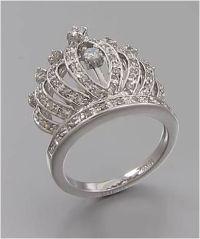 Queen's crown ring www.crownchic.com | Jewelry | Pinterest