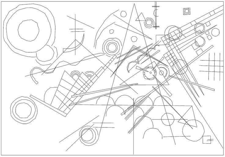 Kandinsky Coloring Pages Coloring Pages