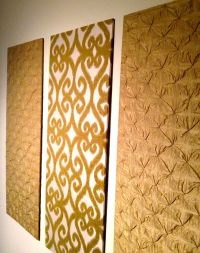 DIY upholstered wall panels | Home Ideas | Pinterest