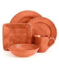 Artimino Tuscan Countryside Terracotta Dinnerware # ...