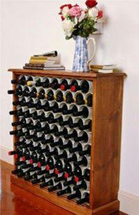 DIY wine rack using pvc pipes | Fun or cool | Pinterest