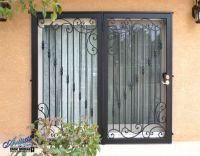 Wrought Iron Patio Security Doors   Wrought Iron Security ...