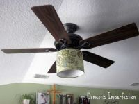 ceiling fan lamp shade | For the Home | Pinterest