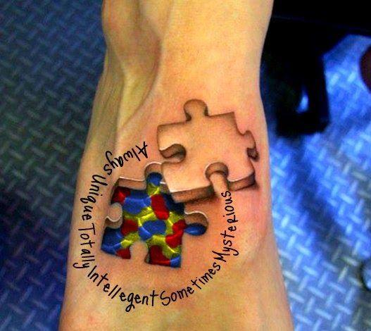 Tattoo Gallery: autism tattoo ideas