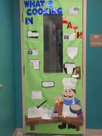 Math door decoration | Teaching Math | Pinterest
