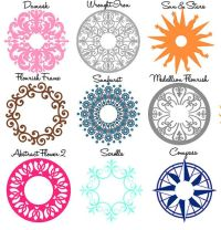 Ceiling Medallion Decal