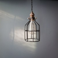 RESERVED FOR maureenmahon1 - Industrial swag cage bulb ...