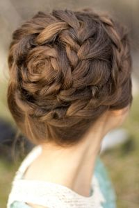 Rose braid | hair city | Pinterest