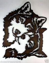 Wolf Metal Wall Art - Bing images