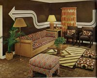 Living Room, 1970s. | Vintage interiors | Pinterest