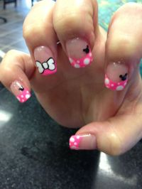 Minnie Mouse nail designs | Nail designs instagram ...