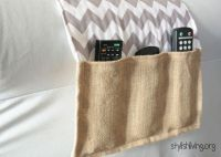Remote Holder DIY | Sewing Projects | Pinterest