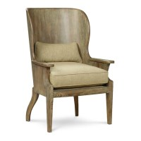 Wood Wing Chair | Dining & Living Room | Pinterest
