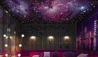 Galaxy ceiling | House into home | Pinterest