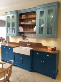 Teal kitchen cabinets by Baker & Baker | Beautiful ...