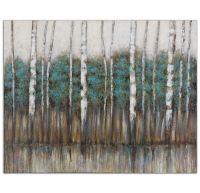 Birch Trees Wall Art Painting