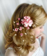 cherry blossom hair accessories SAKURA pink by