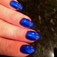 Go Gators nails | Class of 2013 | Pinterest