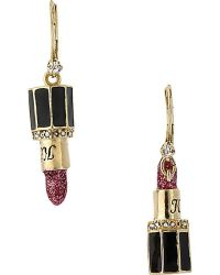 Fashion Jewellery: Fashion Jewelry Lipstick Earrings