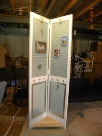 Re-purposed Bi-Fold Door | repurpose | Pinterest