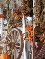 Country Fall Porch Decorating Ideas