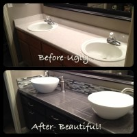 Bathroom Vanity Update | Bathroom Ideas | Pinterest
