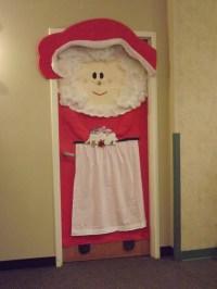 Mrs. Claus door | Bulletin Boards and Door Decorations ...