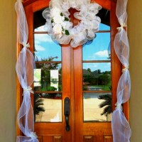Wedding shower door decor! | wedding ideas | Pinterest