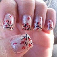 15 Fall Leaves Nail Designs Fashion Diva Design - Nail Art ...