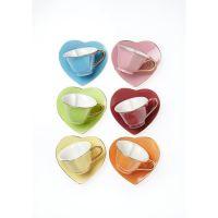 heart shaped tea cups!!! | My Cafe | Pinterest