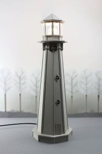 Cardboard Lighthouse Lamp an enchanting bedside by ...