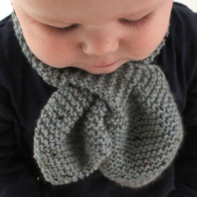 Free Knitting Pattern for Baby Scarf