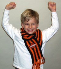 Biker Boy Scarf | Crochet | Pinterest