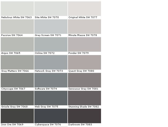 Sherwin Williams Grizzle Gray Sherwin Williams Rock Bottom Sw 7062 Cityscape Sw 7067