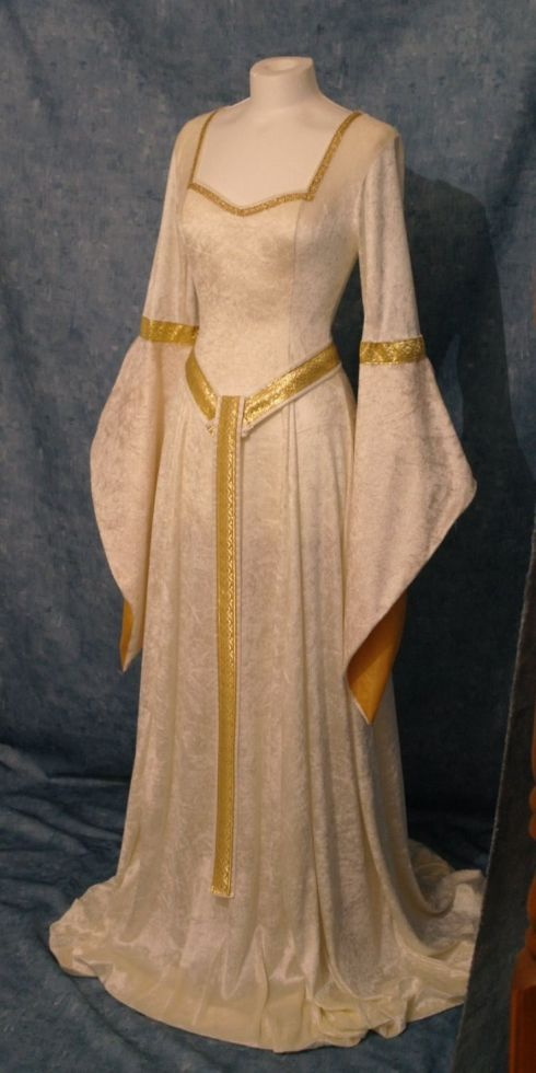 Medieval-style dress, available from camelotcostumes on Etsy