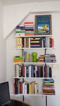 Small Space Secrets: Swap Your Bookcases for Wall Mounted ...