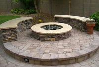 Circle round bench fire pit ring | Patio/Outdoors | Pinterest