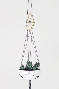 Macrame plant holder   Craft time   Pinterest