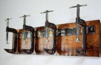 Industrial coat rack | Refurbished Ideas | Pinterest