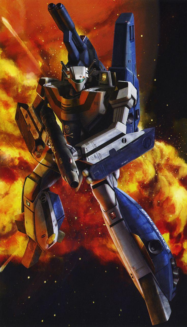 Voltes V Wallpaper Hd Robotech Skull Squadron I Love Anime Amp Manga Pinterest