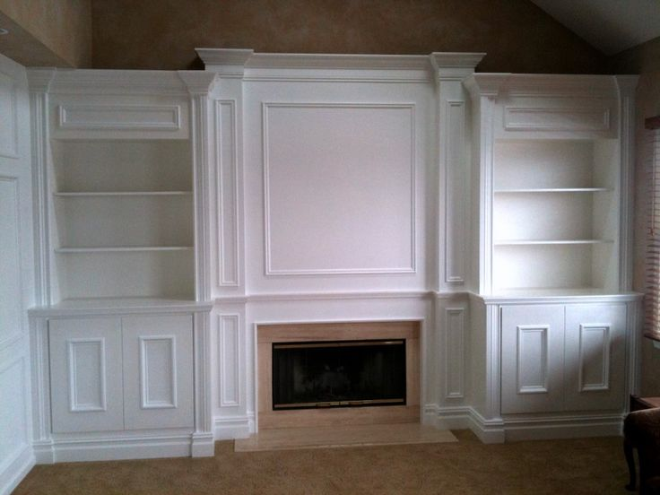 Built In Bookshelves Around Fireplace Diy Built In Bookshelves Around Fireplace | For The Home