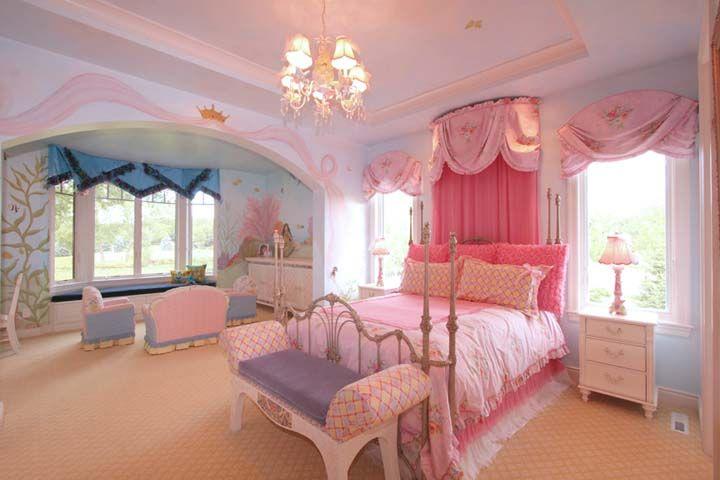 Idea for the little princess room kids room ideas