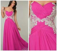 Pink and silver prom dress | *Prom* | Pinterest