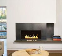 wall-mounted-gas-fireplace | Whistler Home | Pinterest