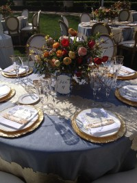 Tuscan elegance table setting | Entertaining Ideas | Pinterest