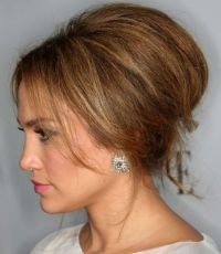 hairstyles-jlo-bouffant-wedding | Medium Hairstyles ...
