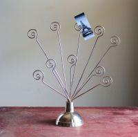 Vintage Brass Picture Holder Stand