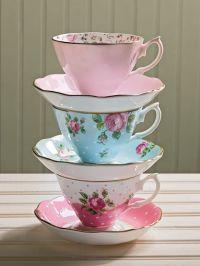 Beautiful tea cups   T-cup   Pinterest