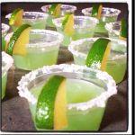 Margarita Flavored Jello Shots