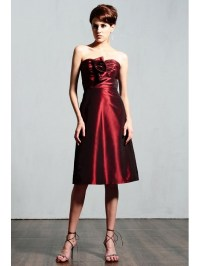 wine colored short bridesmaid dress   Bridesmaid and ...